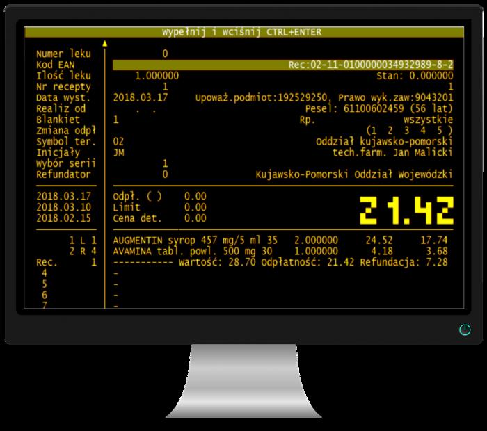 monitor, Malicki